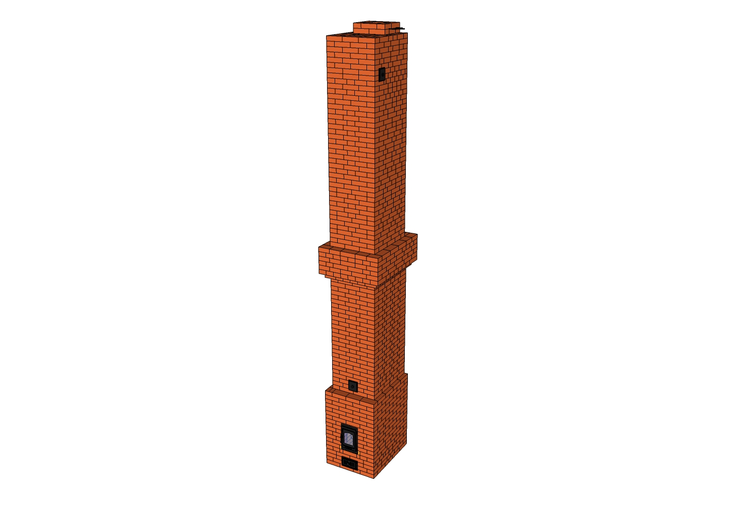 Печное отопление двухэтажного дома: отопительная